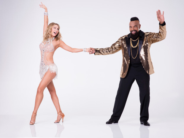 Mr T. Dancing With The Stars 2017   ABC TV 2017