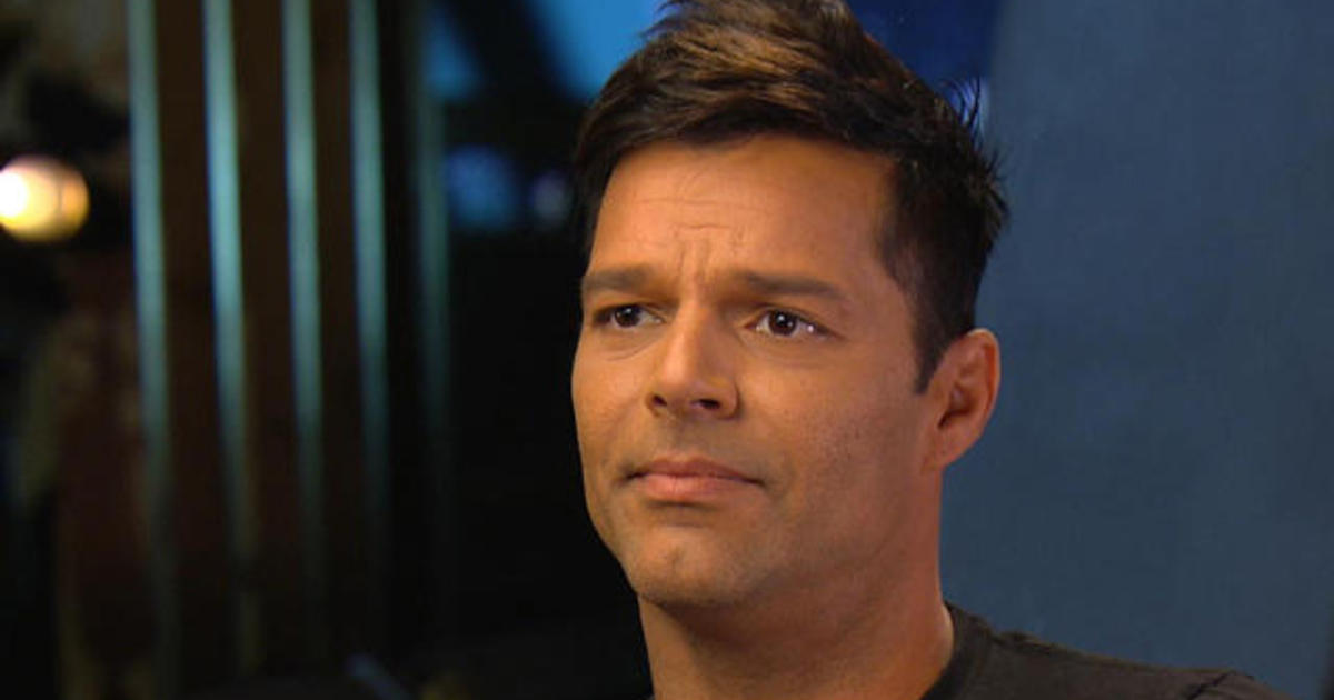 Ricky Martin on CBS Sunday Morning