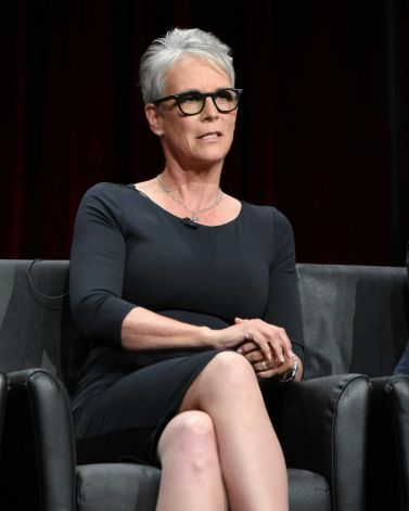 """Jamie Lee Curtis participates in the """"Scream Queens"""" panel at the Fox Summer TCA Tour at the Beverly Hilton Hotel on Thursday, Aug. 6, 2015, in Beverly Hills, Calif. (Photo by Richard Shotwell/Invision/AP) Photo: Richard Shotwell, Richard Shotwell/Invision/AP"""