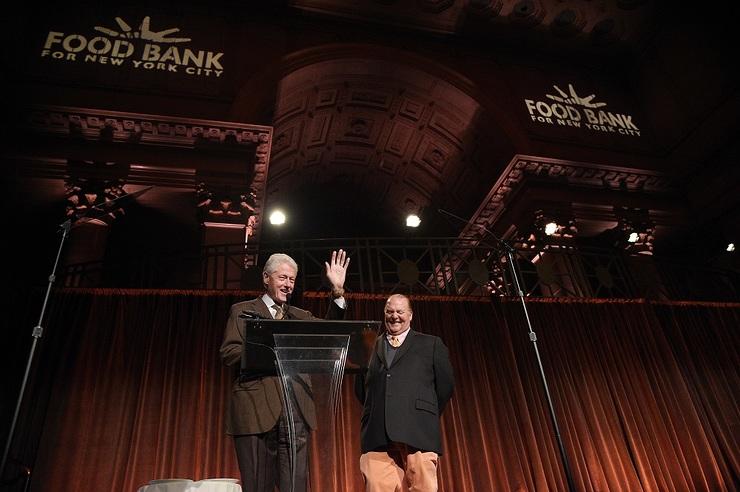 Bill Clinton | Food Bank New York 2017 | Bill Clinton Charity 2017