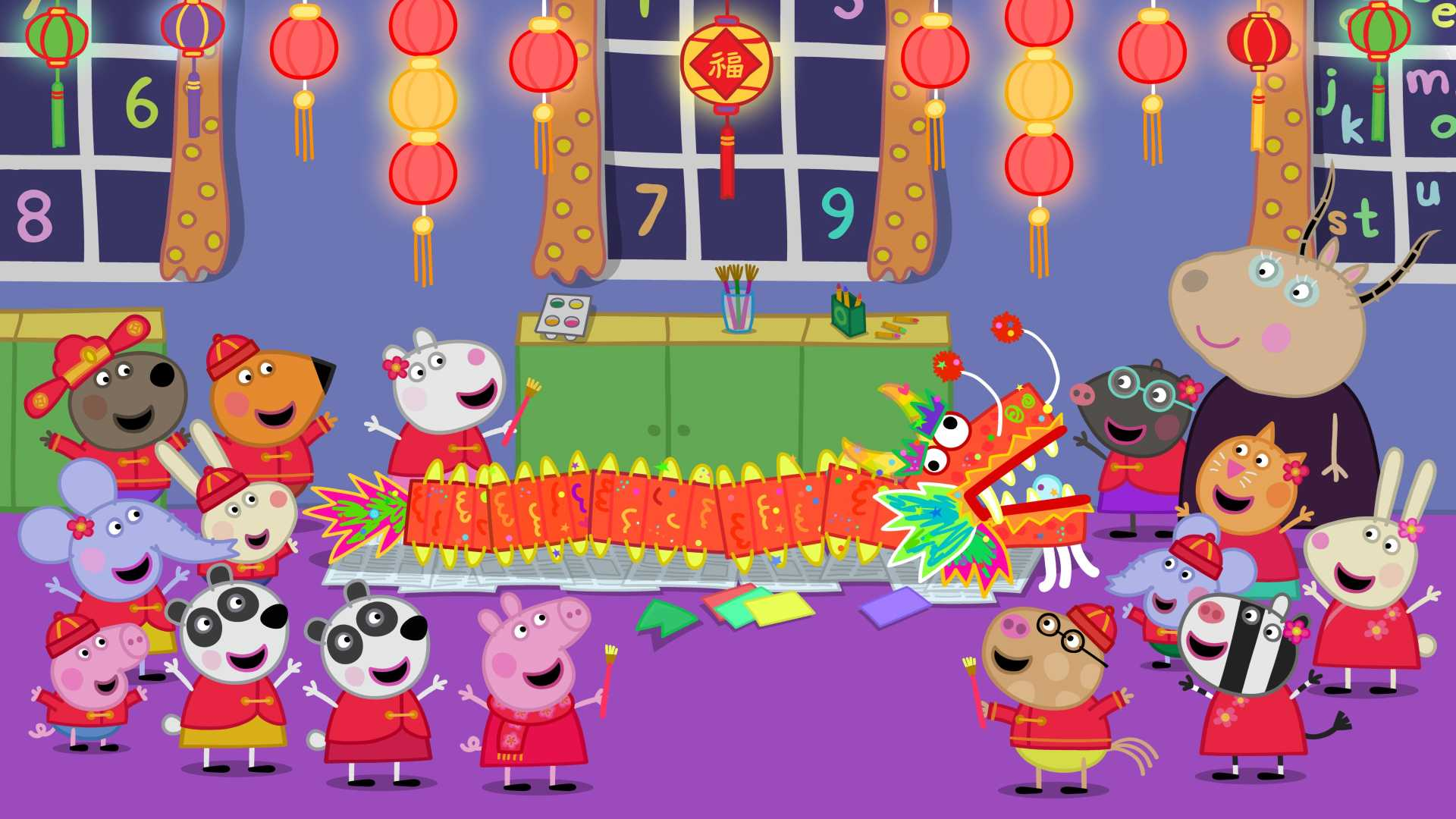 Peppa Pig Chinese New Year Peppasode Tues Feb 5 At 9am On