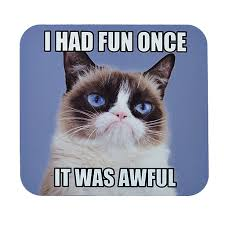 Grumpy Cat, a feline whose perpetual scowl turned countless frowns
