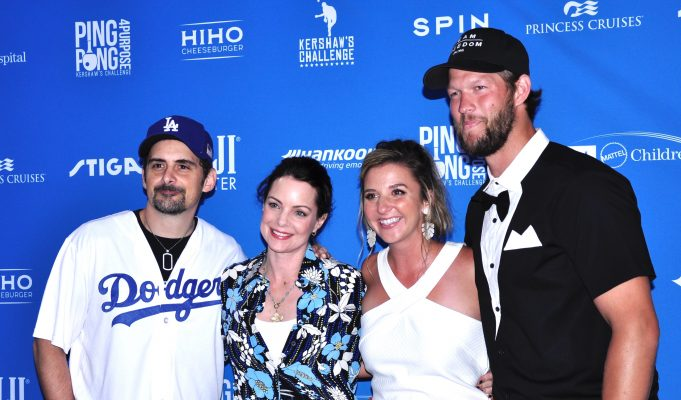 Clayton and Ellen Kershaw Hold Annual Celebrity Ping Pong 4 Purpose Charity Tournament