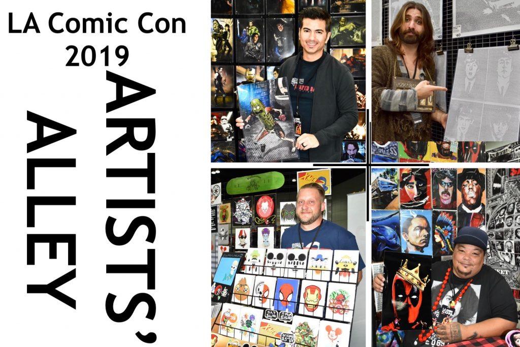 LA Comic Con Artists