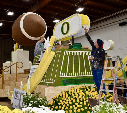 Rose Parade float 5