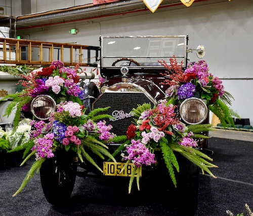 Grand Marshall's car - The Tournament of Roses