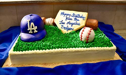 Dodgers Bday celebration