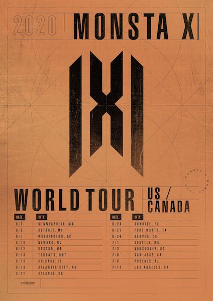 Monsta X Tour Dates