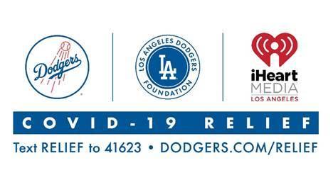 Dodgers, Dodgers Foundation & iHeart Media Logos