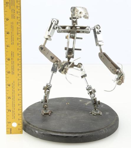 Armature for Key Chess Piece with measurment view