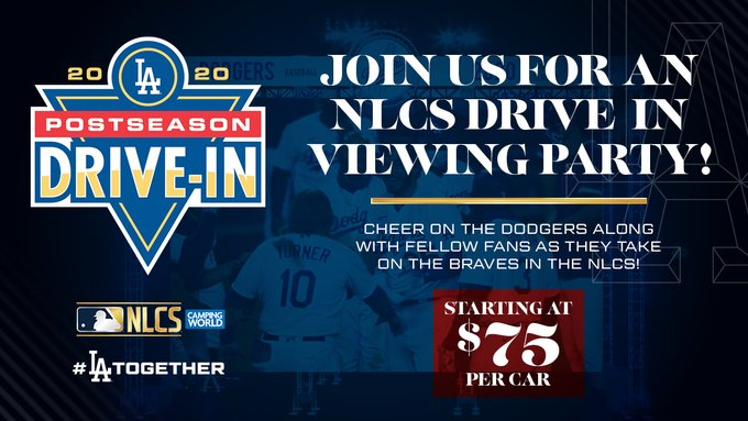 Dodgers-NLCS-Drive-in-Party